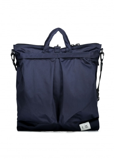 F/CE Satin 3 Way Helmet Bag - Navy