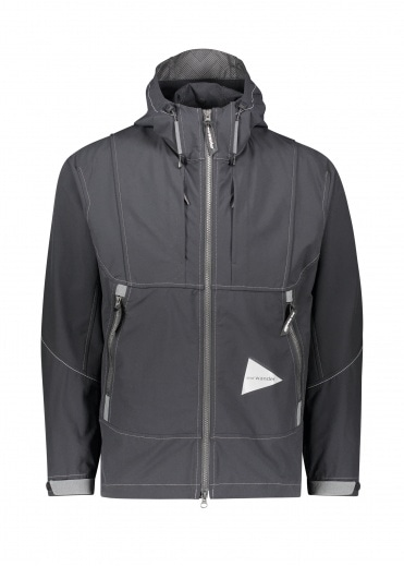 And Wander  Schoeller 3XDRY Jacket - Black
