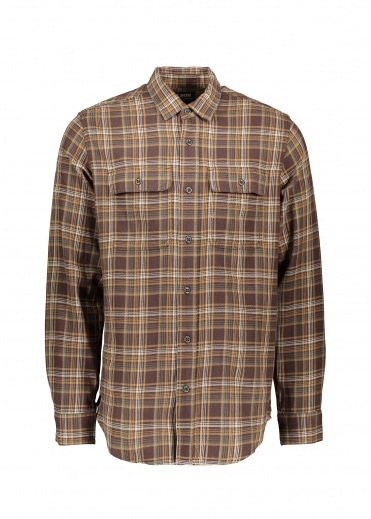 Filson Scout Shirt - Brown / Tan / Green
