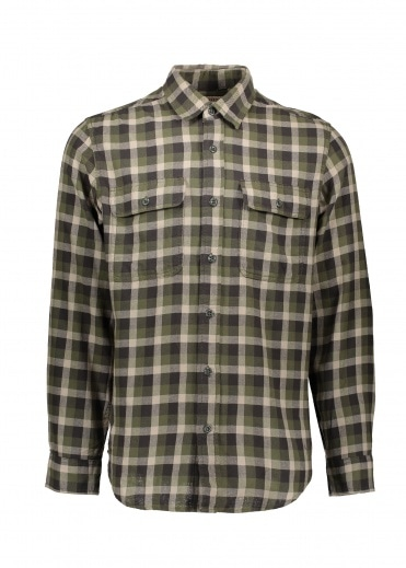 Filson Scout Shirt - Olive / Brown