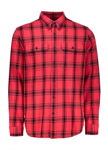 Filson Scout Shirt - Red / Black