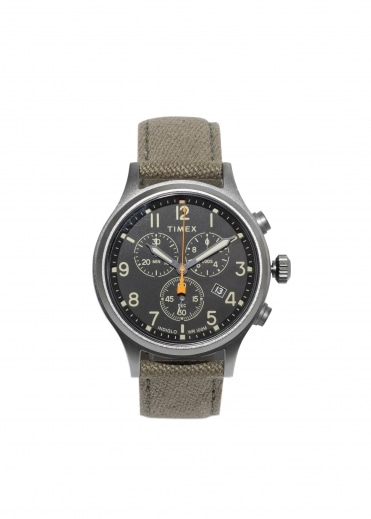 Timex Scovill Chrono - Green / Black