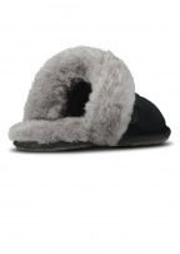 UGG Scuffette Slippers - Black / Grey