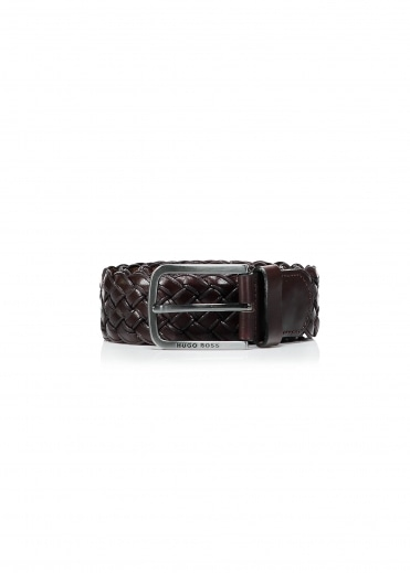 Hugo Boss Serafino Belt - Dark Brown
