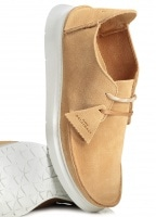Clarks Originals Seven Suede - Tan