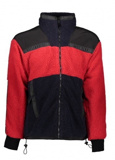 Billionaire Boys Club Sherpa Fleece - Red