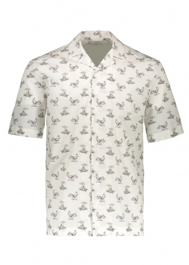 Sunspel Short Sleeve Shirt - Sorimachi Cross Word