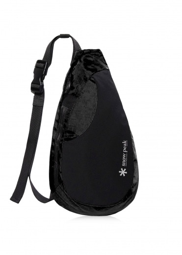 Snow Peak Side Attack Bag - Black