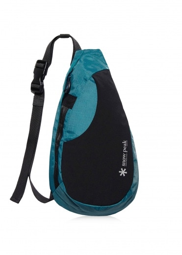 Snow Peak Side Attack Bag - Blue