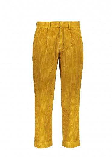 Folk Signal Pants - Golden Yellow