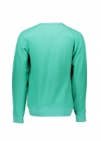 Saturdays NYC Simon Tape Sweatshirt - Seafoam