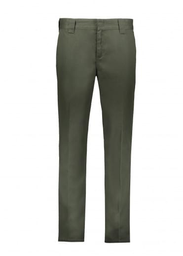 Dickies  Slim Fit Work Pant - Olive Green