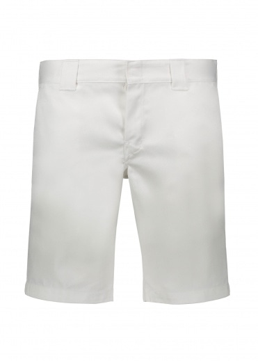 Dickies  Slim Work Short - White