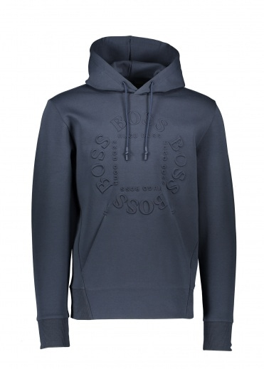 Boss Athleisure Sly Hoody 410 - Navy