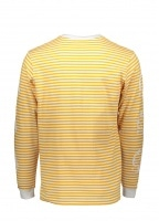 Billionaire Boys Club Small Stripe LS Tee - Yellow / White