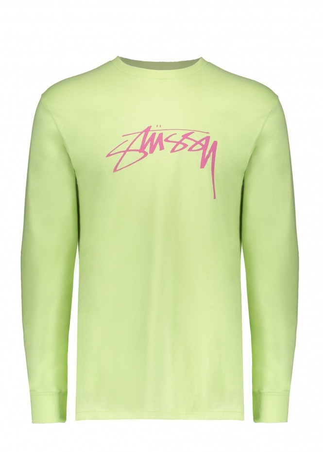 Smooth Stock LS Tee - Pale Green