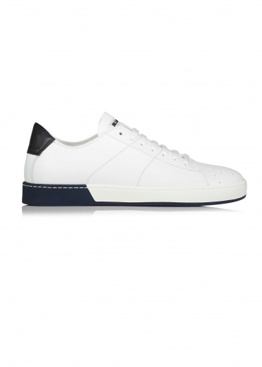 Jil Sander Softy 101 Uomo Sneaker - White / Navy