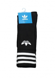 Adidas Originals Apparel Solid Crew Socks - Black / White