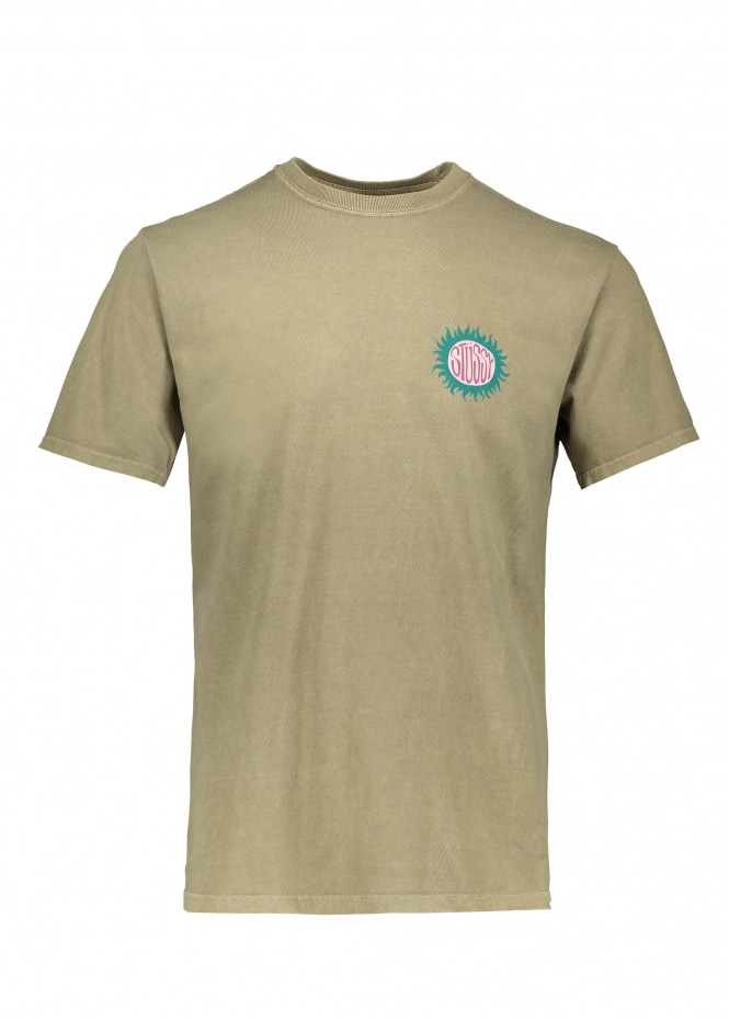 Soll Pig Dyed Tee - Army
