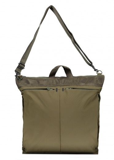 White Mountaineering  Spectra Pocket Helmet Bag - Khaki