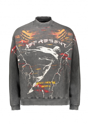 Represent Spirit Angel Sweater - Vintage Grey