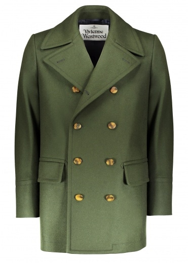 Vivienne Westwood Mens Sports Jacket - Dark Green