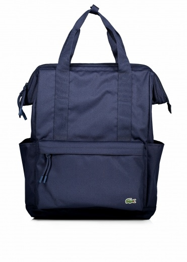 Lacoste Square Backpack - Peacoat