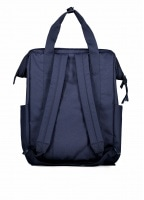 Square Backpack - Peacoat