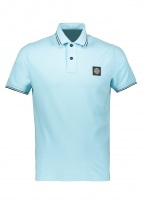 SS Badge Polo - Acqua