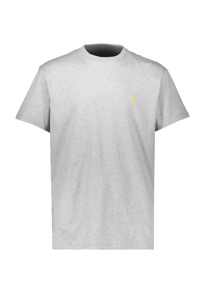 Carhartt SS Chase T-Shirt - Heather / Gold