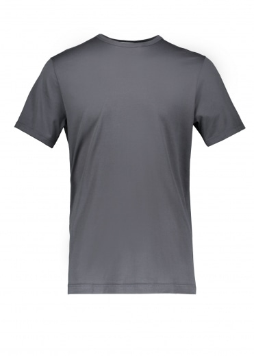 Sunspel SS Classic Crew Tee - Charcoal