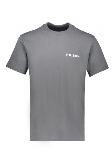 Filson SS Outfitter Graphic Tee - Blue