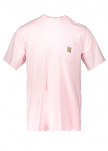 Carhartt SS Pocket T-Shirt - Sandy Rose