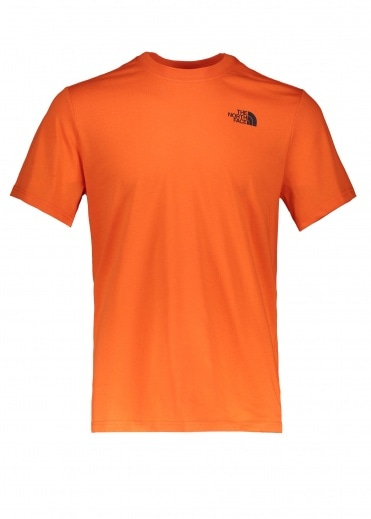 North Face SS Red Box Tee - Persian Orange