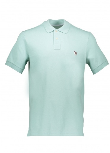 Paul Smith SS Reg Fit Polo Shirt - Green
