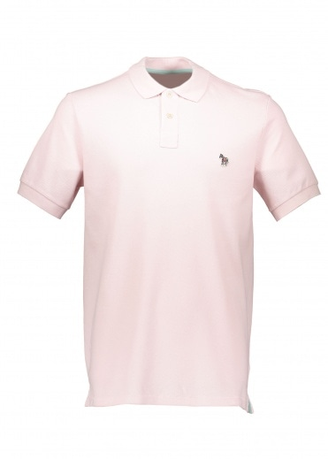 Paul Smith SS Reg Fit Polo Shirt - Pink