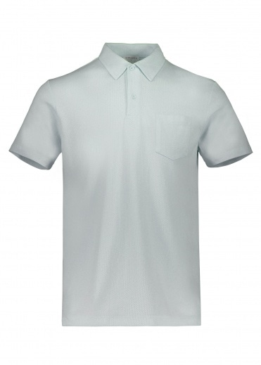 Sunspel SS Riviera Polo - Light Indigo