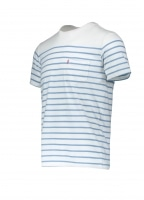 SS Sunset Anchor Stripe - Marshmallow