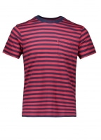 SS Sunset Cooler Stripe - Red / Blue