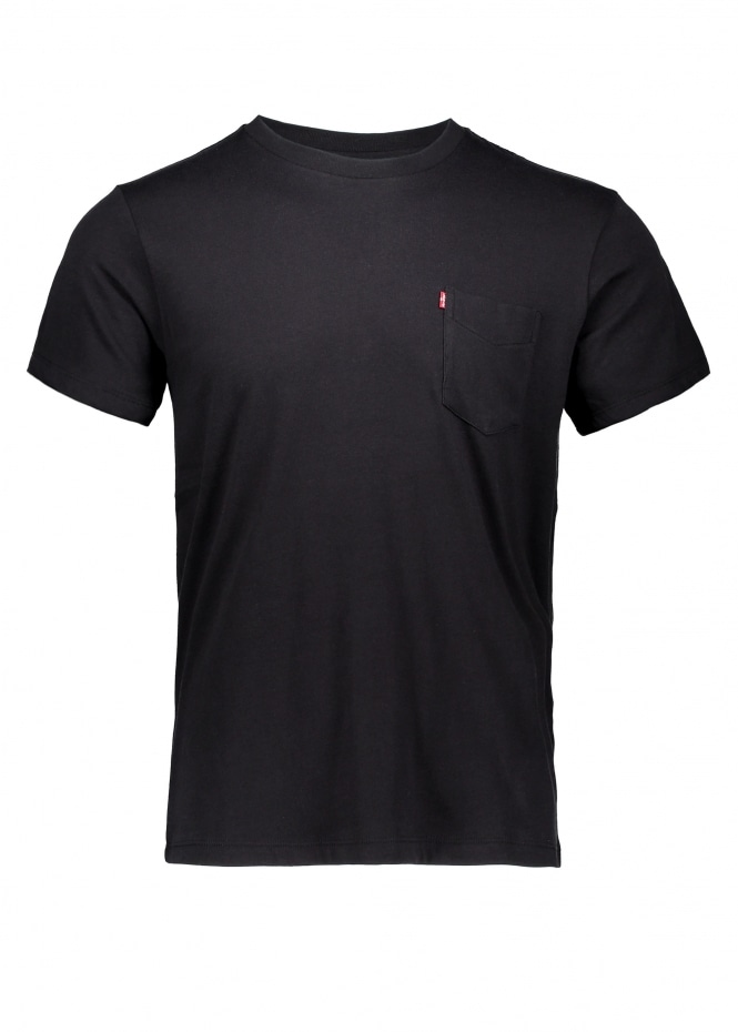 SS Sunset Pocket Tee - Mineral Black