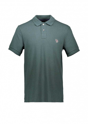 Paul Smith SS Zebra Logo Polo - Dark Green