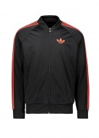 adidas Originals Apparel SST OG Tracktop - Black / Red