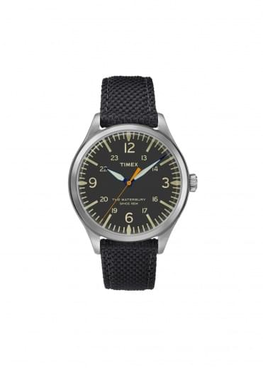 Timex Stainless Steel Watch - Black