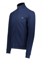 Stand Up Collar Zip - Navy Blue