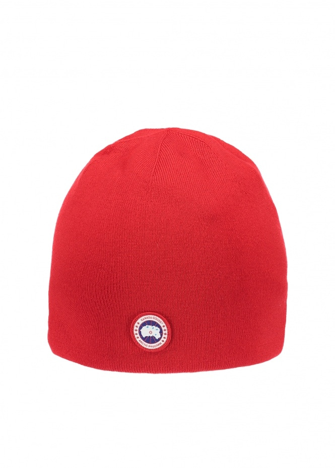Canada Goose Standard Toque Hat - Red