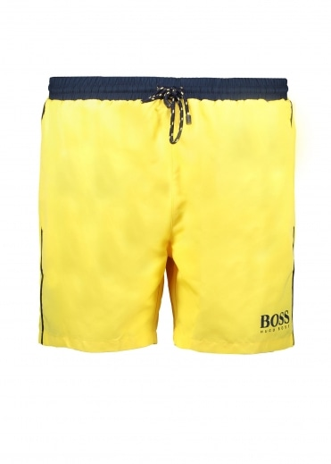 Hugo Boss Starfish Shorts - Medium Yellow
