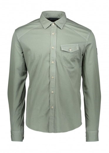 Belstaff Steadway Shirt - Ash Green