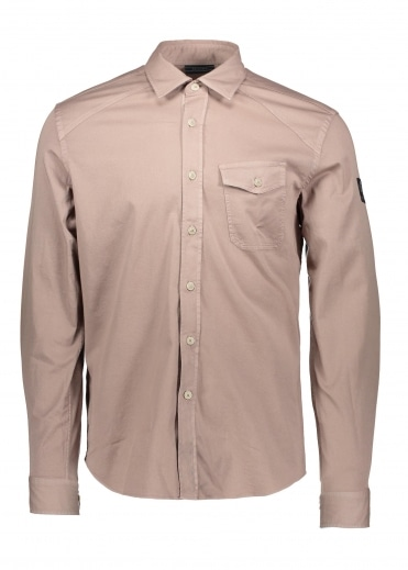 Belstaff Steadway Shirt - Ash Rose