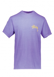Stussy Stock C.Pig Dyed Tee - Purple