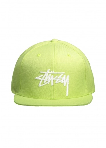Stussy Stock Cap - Lime